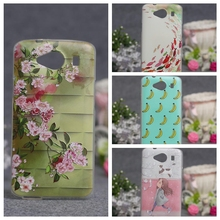 ZTE Blade L3 Apex Luxury Cartoon Pattern Flower Cover Soft TPU Case Back 3D Relief Silicone - Betty Box store
