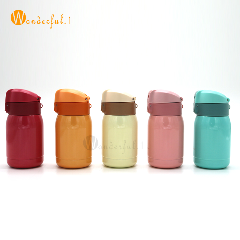 HOT SALE !! 200ML mini Coffee vacuum flasks thermos Stainless steel drink water bottle termos termo cups and mugs free shipping(China (Mainland))