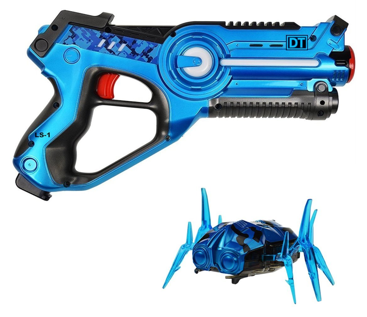 Legacy Toys Laser Tag Blaster and Nano Bug Target Set include Target Robot Spider(China (Mainland))