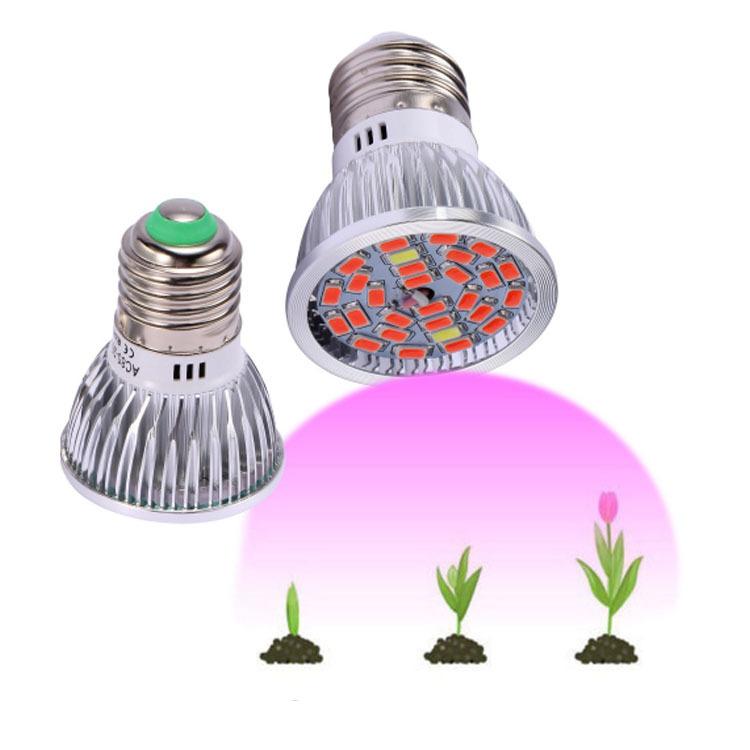 Светодиодные лампы для роста растений комнатных лампа выращивания с питанием от Z-6