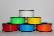 3d printer filament PLA ABS 1 75mm 3mm 1kg many colors Consumables Material MakerBot RepRap kossel