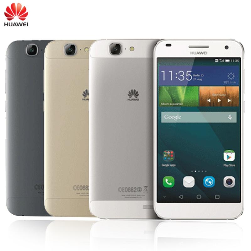 "Original Huawei Ascend G7 Mobile Phone 5.5"" Screen EMUI 3.0 2GB RAM 16GB ROM MSM8916 Quad-Core Dual SIM 13.0MP Camera Smartphone(China (Mainland))"