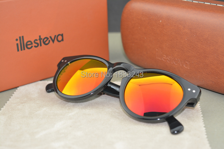 Free shipping summerstyle sunglasses Brand Designer Women Lady's illesteva Beach Eyewear Girl's Candy Jelly Color summer gift(China (Mainland))
