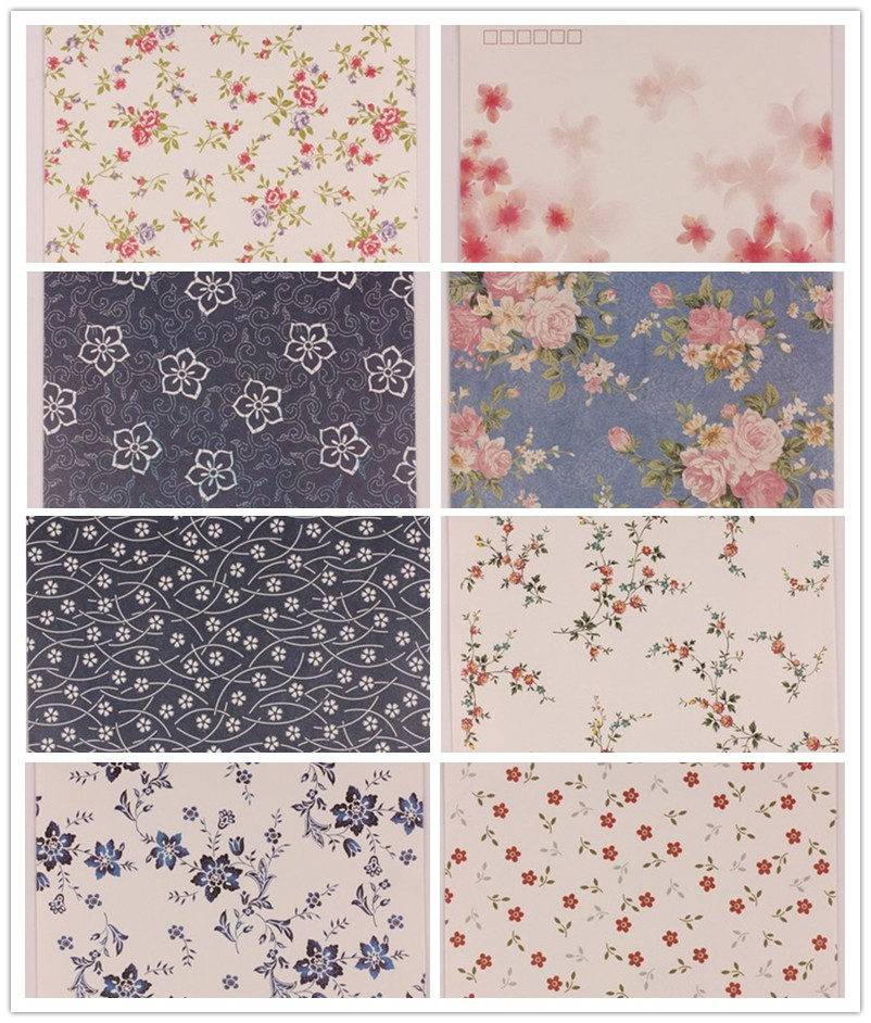 80pcs/lot 175mm*125mm Flower Floral Paper Envelopes Bags for Greeting Cards Postcard Wedding Business Christmas Invitations(China (Mainland))
