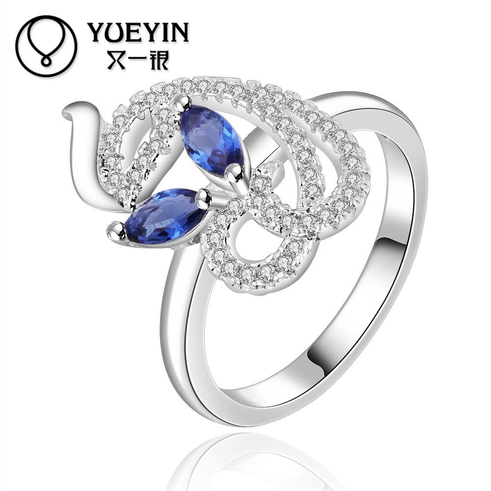 2016 big sale free shipping 925 sterling silver ring fashion jewelry dinner party wedding engagement ring full size(China (Mainland))
