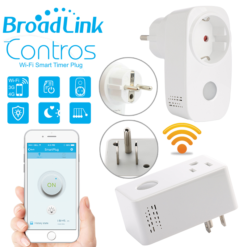 Original Broadlink Sp3 SP CC 16A+Timer EU US mini wifi socket plug outlet Smart remote wireless Controls for iphone ipad Android(China (Mainland))