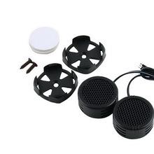 Buy Universal High Efficiency 2x Car Mini Dome Tweeter Loudspeaker Loud Speaker Super Power Audio Auto Sound for $1.68 in AliExpress store