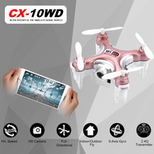 Newest RC Quadcopter Cheerson CX-10WD CX10WD CX-10WDTX rc drone Wifi FPV High Hold Mode CX10 CX10W Update Version Helicopter Toy