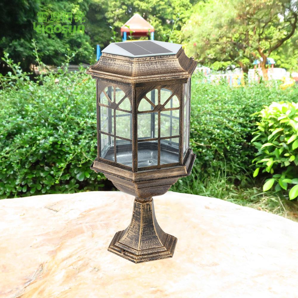 Может фары столбцов наружное освещение настенные стойки двери Европейского вилла благоустроенный двор сад Лампа супер яркий