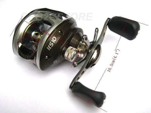 2 pcs Lot KASE 5BB Gear Ratio 6.3:1 Low Profile Baitcasting Fishing Reel Baitcast Reels China Post Air Free