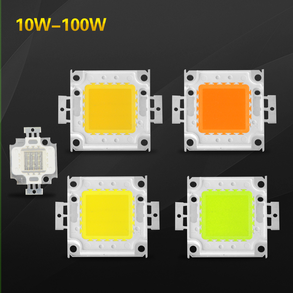 High Bright SMD LED Chip 1w 3w 10w 20w 30w 50w 100w Beads for Floodlight Spotlight RGB / White / Warm White for Reflector led(China (Mainland))