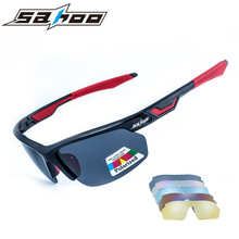 Buy 2017 Sahoo Polarized Cycling Glasses Outdoor MTB Bike Bicycle Sunglasses Unisex Sport Cycling Eyewear Goggles 5 Pair Lens for $17.43 in AliExpress store