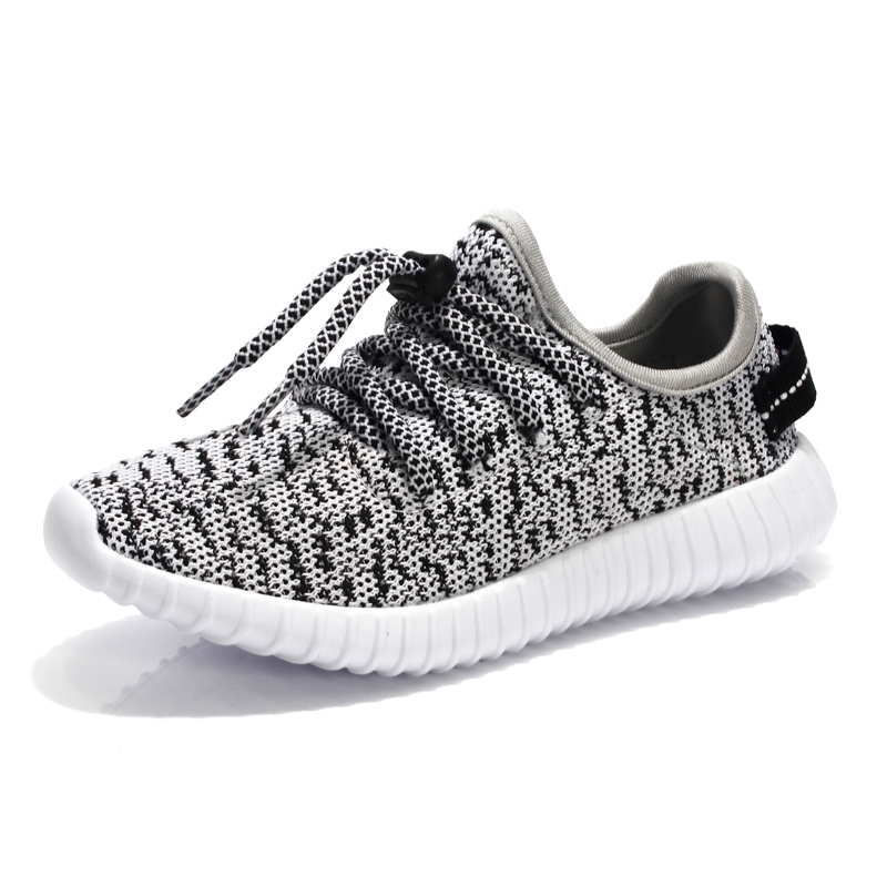 Yeezy Shoes Kids Shoes Chaussure Enfant Fashion Children Sneakers Comfortable and Breathable boys Shoes Portable Lace-Up Shoes(China (Mainland))