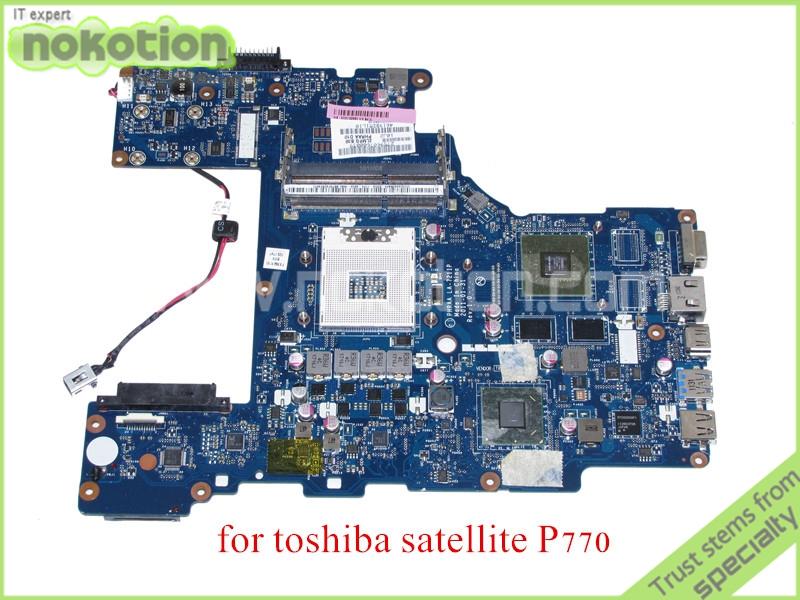 laptop motherboard for toshiba satellite p770 LA-7211P REV 1.0 MB K000122880 HM65 NVIDIA GeForce GT540M DDR3(China (Mainland))
