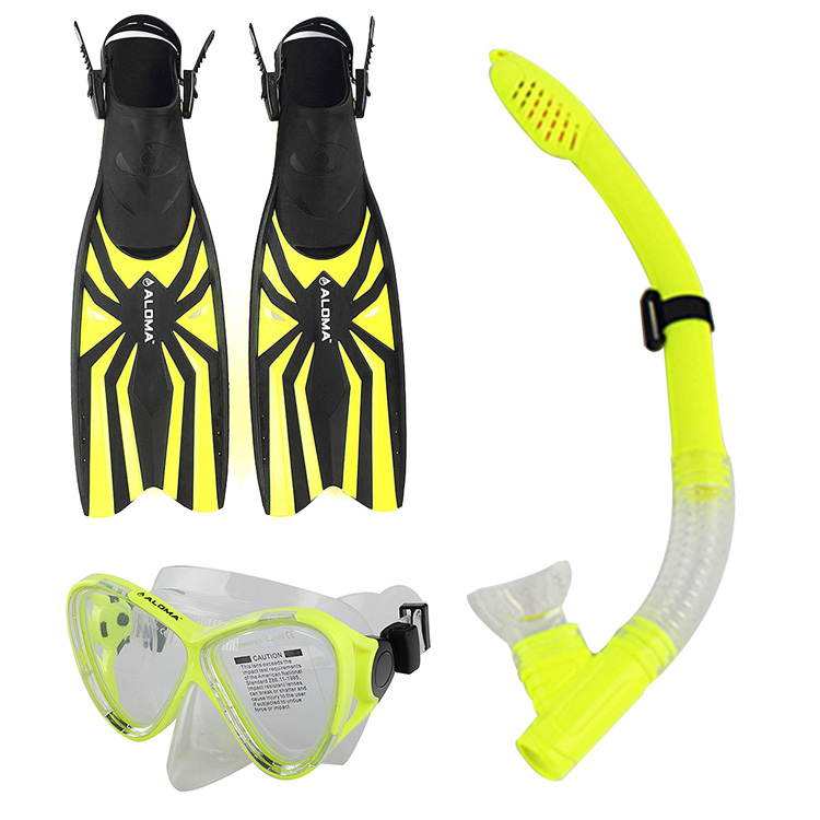 Diving Equipment Anti Fog Goggles Scuba Diving Mask+Snorkels+Flippers Glasses Silicone Diving Mask(China (Mainland))