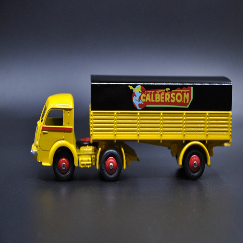 1/43DINKY TOYS TRACTEUR PANHARD ET SEMI-REMOROUE BACHEE CAIBERSON<br><br>Aliexpress