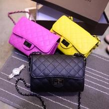 Wholesale Shoulder Crossbody Bags Brand Mini Women Messenger Bag Chains Evening Bag Women Diamond Lattice Hand Bag Clutches Flap