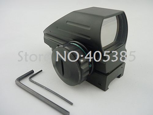 Hot sale 1x22x33 Multi Reticle Red Green Dot Sight  free shipping