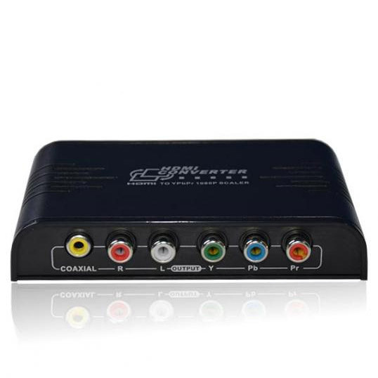 HDMI to 1080P Component Video YPbPr Scaler Converter Supporting Coaxial Audio Output(China (Mainland))