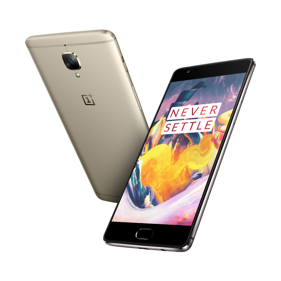 Stock 5.5 inch Oneplus 3T Dual 16.0MP Smartphone Snapdragon 821 Quad Core 128G/64GB Oxygen OS 6GB RAM Dual SIM NFC Dash Charge