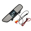 Stable 4 3 Inch Universal Auto Car Car Rearview Mirror Monitor HD Vehicle Video Auto Parking