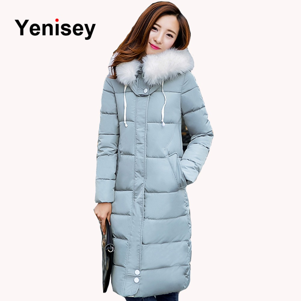 Womens Winter Jackets And Coats Rushed Long 2016 New Winter Ladies Jacket Down Parka Women Big Coat Lengthened Slim 0709(China (Mainland))