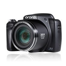 Free DHL Digital Camera 35X Optical Zoom HD Photo Potografica High Definition 3 Inch Screen With Strap Macro Mode(China (Mainland))