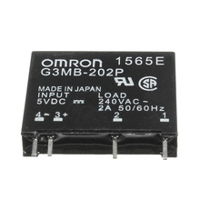Brand New High Standard G3MB-202P DC-AC PCB SSR In 5VDC,Out 240V AC 2A Solid State Relay