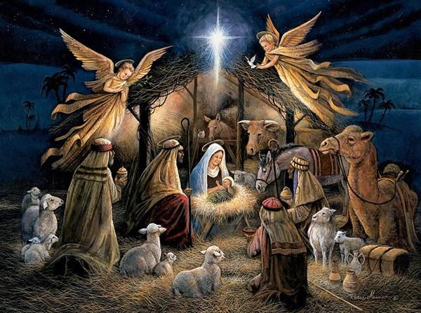 """Вышивка крестом """"Рождество"""" фото"""