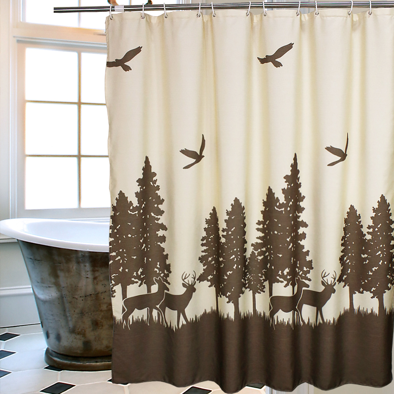 2016 Style Bathroom Curtains Shower Curtain Cloth