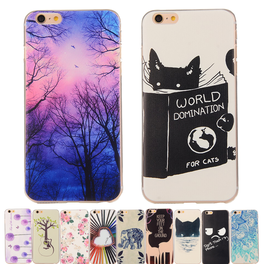 NEW Cute Cat Rose Fashion Design Ultra Thin Soft TPU Gel Silicon Transparent Case Cover For Huawei P9 P8 Lite P8lite Phone Shell(China (Mainland))