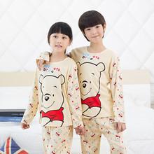 Spring Autumn Sleepwear Boys Pyjamas Girls Clothing Set Children s Clothes Sets Underwear Cartoon Kids Pajama