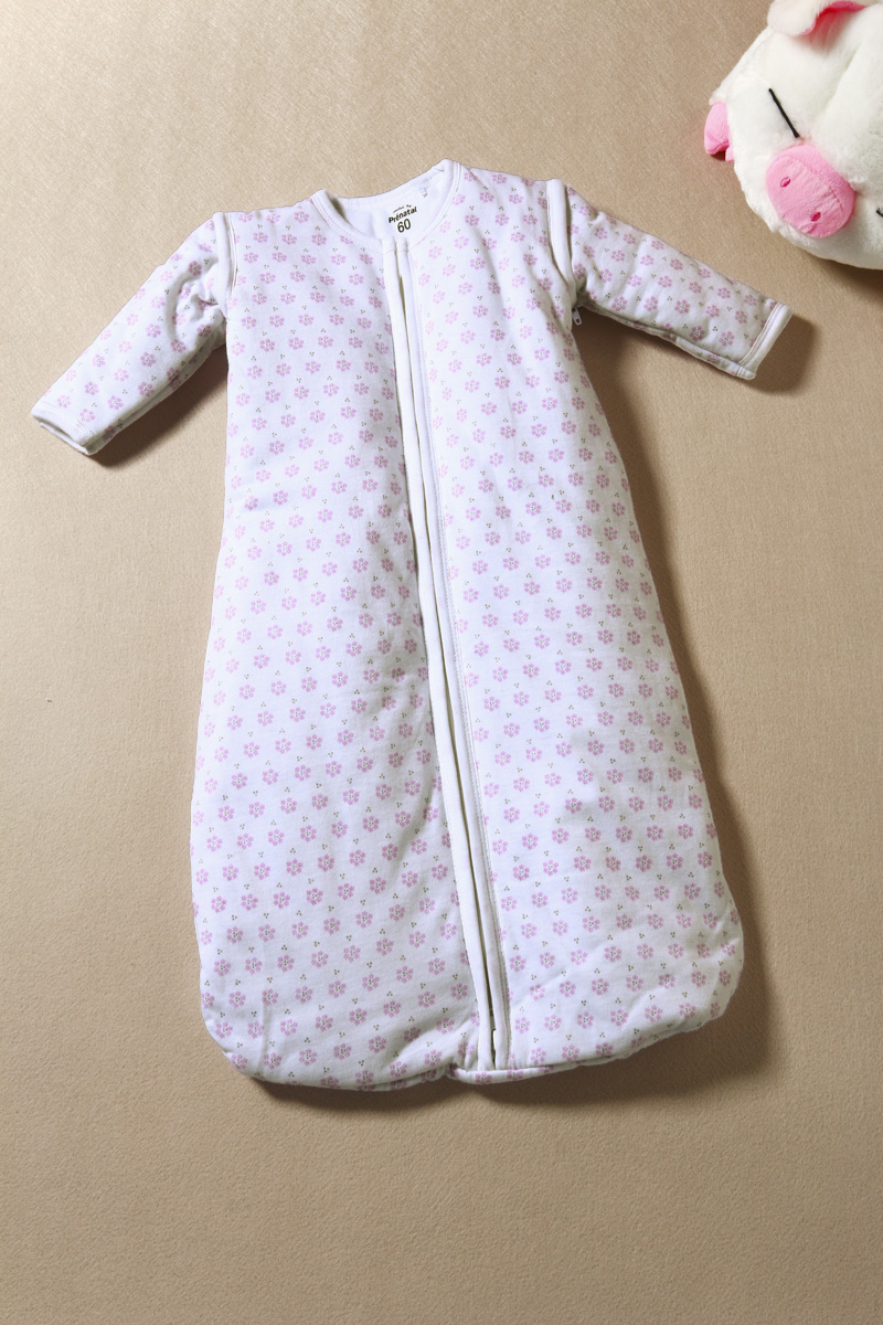 2015 Gigoteuse Fashion Children's Clothing 0 - 3 Male Female Child Winter 100% Cotton Thickening Thermal Zipper Sleeping Bag F42(China (Mainland))
