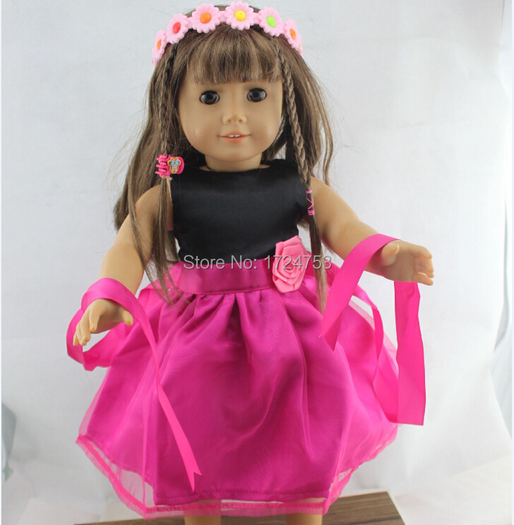 Free Shipping 18 Inch Baby Doll Clothes Beautiful Dolls