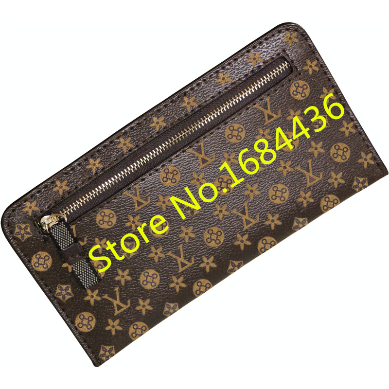Women PU Leather Thin Soft Long Wallet Designer Purse Famous Brand Ladies Luxury Envelope Clutch Men Porte Monnaie Femme gw0836<br><br>Aliexpress