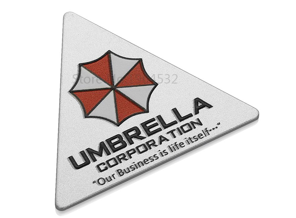 3D Car Stickers – Umbrella Corporation Resident Evil Decals