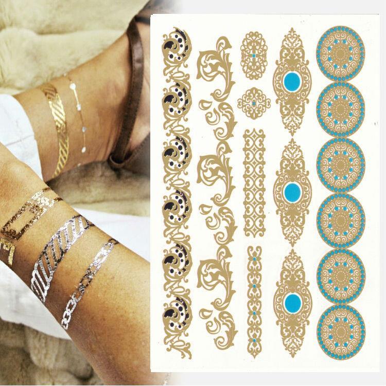 1pcs [799 designs] High Quality flash tattoo sticker henna tatoo flash temporary tatto summer style gold tatto Promotion cheap!(China (Mainland))