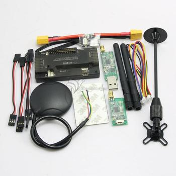 APM2.8 ArduPilot APM Flight Controller + Ublox 6M GPS + 3DR Telemetry + XT60 Power Module for FPV Multicopter