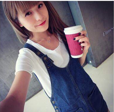 Fashion Women Jeans Dress Summer 2015 Blue Denim Punk Fashions Clothing Set Casual Dresses - Burning Store store