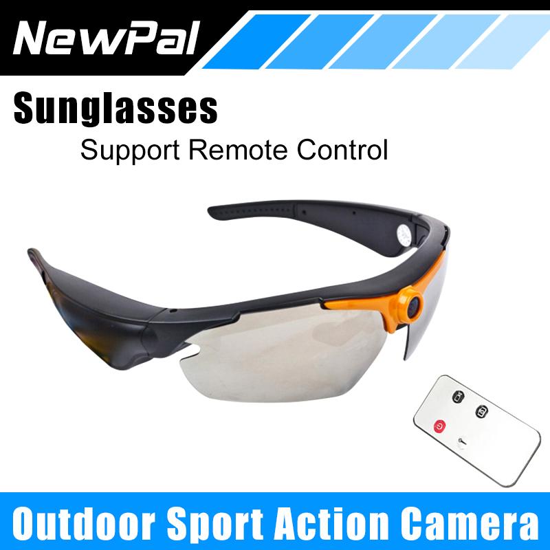 Sport HD Sunglasses Camera 1.2 Mega 1080P Mini Camera for Outdoor Sport Action DV Video Voice Recorder Camera Support TF Card(China (Mainland))