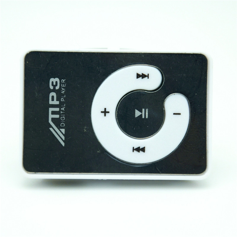 Mini Clip USB MP3 Music Media Player Support 1-8GB Micro SD TF + Headphone + Cable(China (Mainland))