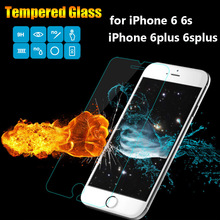 High Quality Premium Tempered Glass Screen Protector for iPhone 6 6S Plus Toughened protective Film For iPhone 4.7inch 5.5″inch
