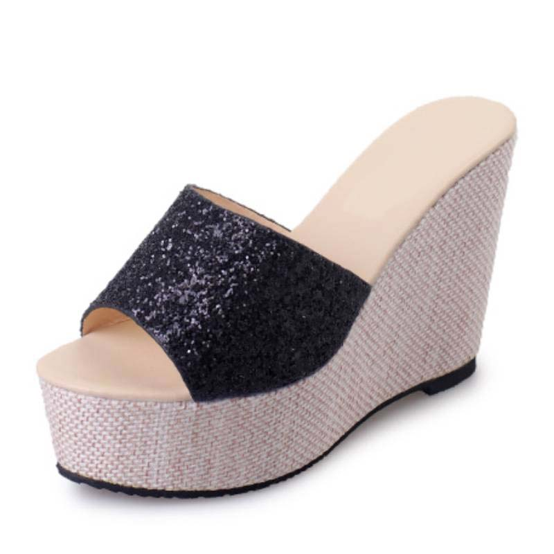 Popular Black and Gold Wedge-Buy Cheap Black and Gold Wedge lots ...