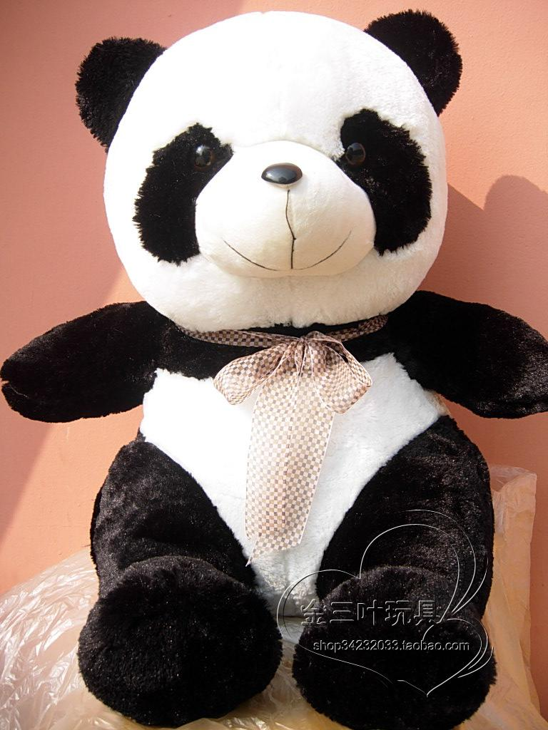 Club toy giant panda toy huge 80cm doll birthday gift girlfriend gifts t0528(China (Mainland))