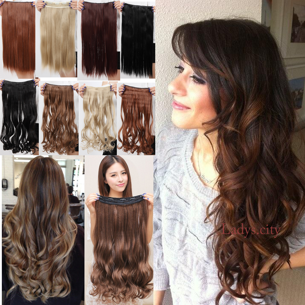 """1PC Curly Clip In Hair Extensions 24""""60cm Hairpiece Accessories Synthetic Hair Extension Brazilian Body Wave 28(China (Mainland))"""