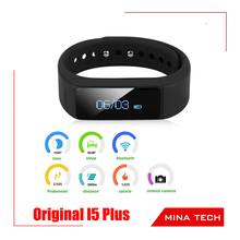 i5 plus Smart Wristband Pedometer/Sleep Monitor/Caller ID – Iphone/Android