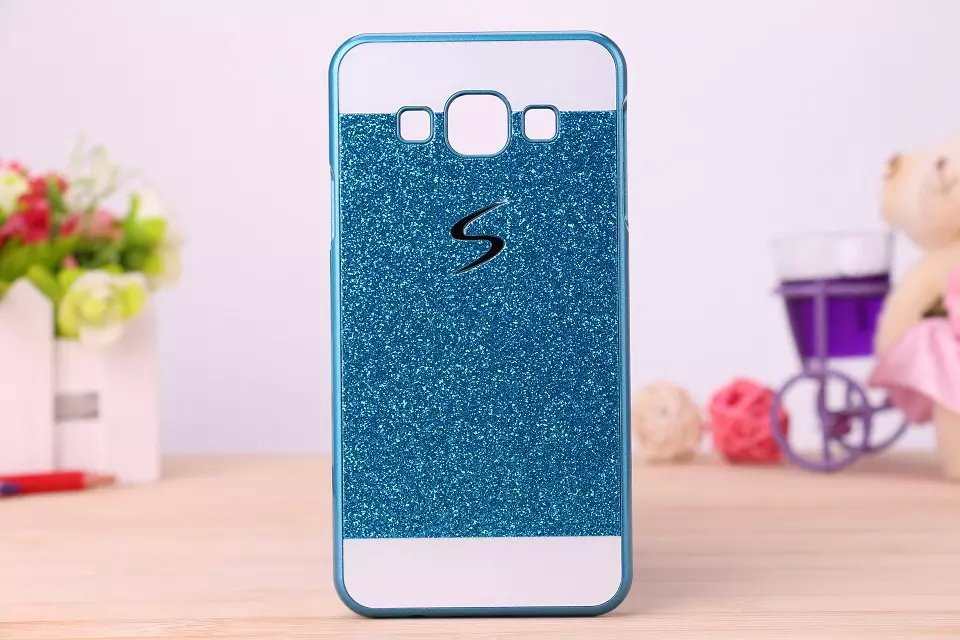 Bling Plastic Shinning Case Luxury Glitter Hard PC Back Protective S Line Cover For Samsung Galaxy Ace 4 NXT G313 SM-G313H(China (Mainland))