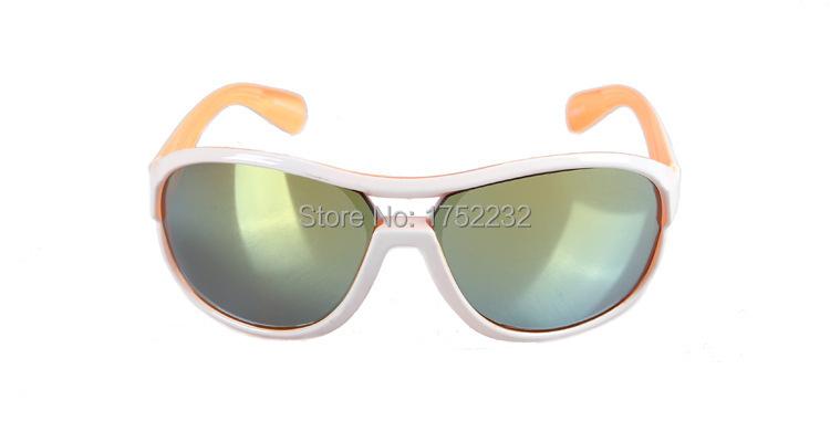 New Fathion Cute Cartoon Baby Girls Boyx Sunglasses Kids Sunglasses Plastic Frame Children Goggles UV 400 Protection New Model(China (Mainland))