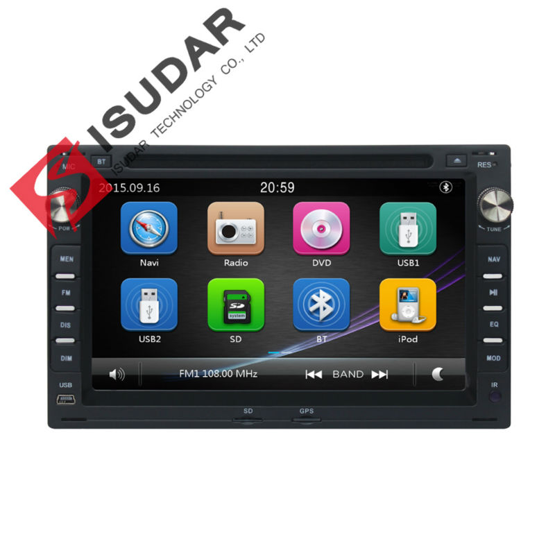 Two Din 7 Inch Car DVD Player For VW/Volkswagen/PASSAT/B5/MK5/GOLF/POLO/TRANSPORTER With Radio GPS Navigation BT 1080P Ipod Map(China (Mainland))