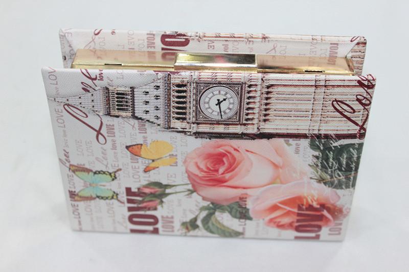 Вечерняя сумка PU .clutch bags 2015 PU estojos kippling 7457